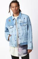 Civil Grimes Embroidered Denim Jacket