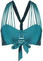 Hunkemoller LAGUNA FANCY Bikini top blue