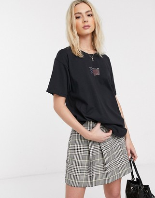 Daisy Street oversized t-shirt with vintage los angeles print