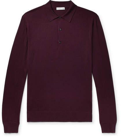 Etro Wool Polo Shirt