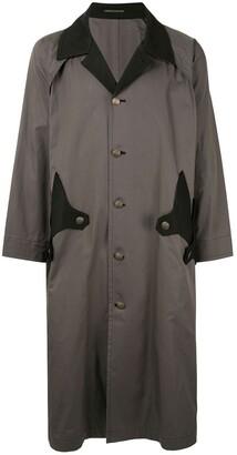 Yohji Yamamoto Two-Tone Duster Coat
