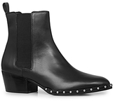 AllSaints Ellis Studded Low Heel Chelsea Booties