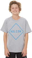 Volcom Boys Pitcher Tee Grey