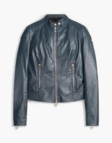 Belstaff Mollison Biker Jacket Blue