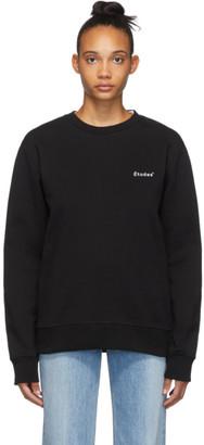 Études Black Story Small Logo Sweatshirt