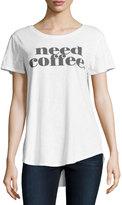 Signorelli Need Coffee Graphic Tee, White