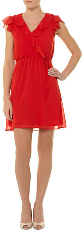 Dorothy Perkins Billie and Blossom red ruffle dress