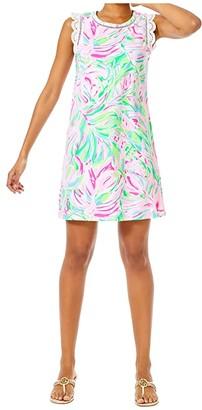 Lilly Pulitzer Agee Dress (Multi Croc My World) Women's Dress