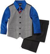 JCPenney TFW 4-pc. Glen Plaid Vest Set - Boys 2t-5t