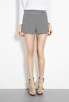 Emma Cook High Wasited Striped Shorts