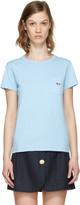 MAISON KITSUNÉ Blue Fox Patch T-shirt