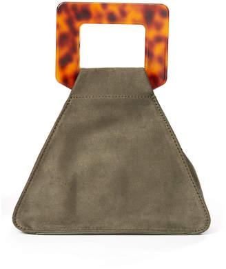 Urban Expressions Square Handle Handbag Olive 1 Size