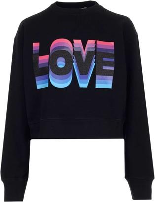 Golden Goose Love Print Sweatshirt