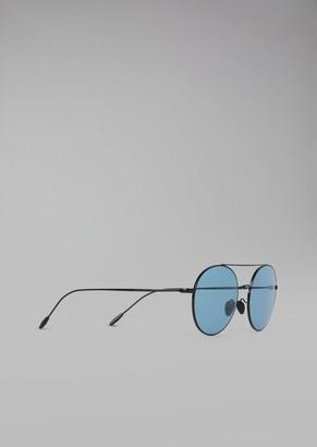 Giorgio Armani Sunglasses With Metal Frame