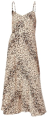 Joie Janeil Leopard Slip Dress