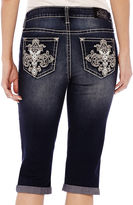 LOVE NATION ZCO Bling Cropped Jeans - Petite