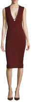 Finders Keepers Superstition V-Neck Sheath Dress