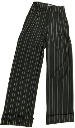 I.AM.GIA Black Viscose Trousers