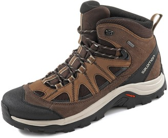 Salomon Men's Authentic Leather & GORE-TEX Backpacking Boots