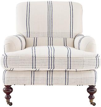 Imagine Home Chatsworth Armchair - Blue/White