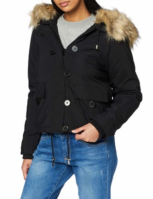 Miss Selfridge Women's Short Parka