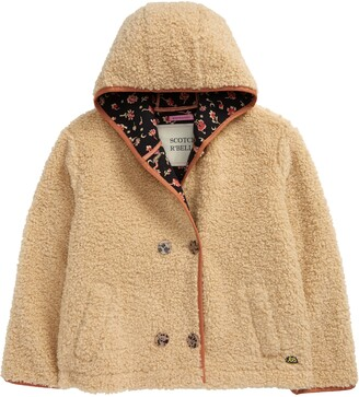 Scotch R'Belle Hooded Faux Shearling Teddy Jacket