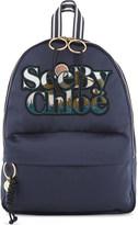 See by Chloe Logo satin backpack