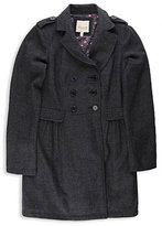 Herringbone Tweed DB Coat