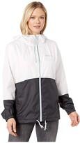 Columbia Flash Forwardtm Windbreaker (White/Black) Women's Jacket