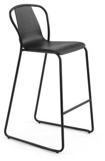 "Ash M.A.D. Furniture Fullerton Bar & Counter Stool m.a.d. Furniture Color: Black Ash, Seat Height: Bar Stool (29.5"" Seat Height)"
