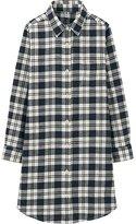 Uniqlo Girls Flannel Long Sleeve Long Shirt