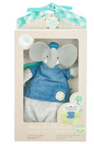 NEW Meiya and Alvin Alvin the Elephant Soft Rattle Toy