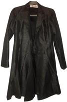 Christian Dior Grey Silk Coat for Women