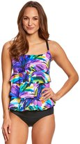 Longitude Mardi Gras Triple Tier Tankini Top 8150540