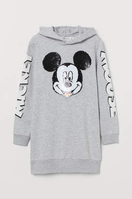 H&M Long Hooded Sweatshirt