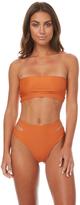 Reverse Lisbon Bandeau Bikini Orange