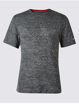 M&S Collection Slim Fit Textured Crew Neck T-Shirt