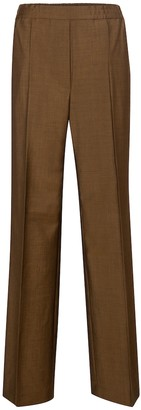 Acne Studios Wool and mohair straight pants
