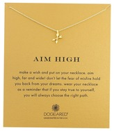 Dogeared Aim High Crossing Arrows Necklace Necklace