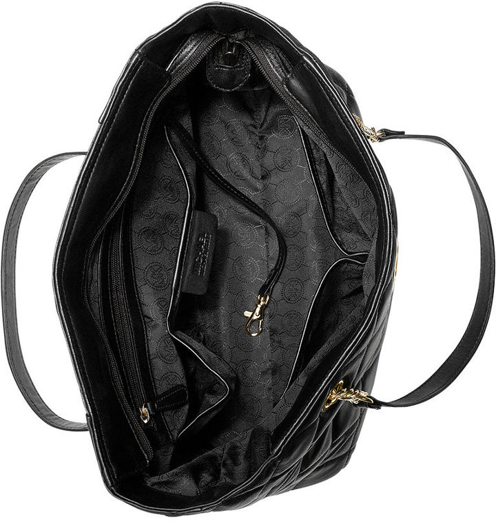 MICHAEL Michael Kors Handbag, Fulton Quilted Large East West Tote
