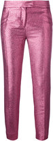 Christian Pellizzari glittery tailored trousers - women - Cotton/Polyester/Acetate - 38