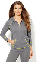 New York & Co. Love, NY&C Collection - Envy Pullover Hoodie - Grey