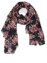 Sole Society Women's Floral Print Scarf