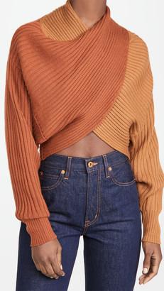 AMUR Milena Crop Sweater