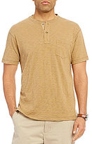 Daniel Cremieux Sonoran Trails Solid Slub Short-Sleeve Henley
