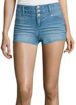 Blue Spice High-Rise Denim Shorts