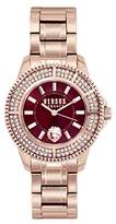 Versus By Versace Women's 'TOKYO CRYSTAL' Quartz Stainless Steel Casual Watch, Color:Rose Gold-Toned (Model: SH7290016)