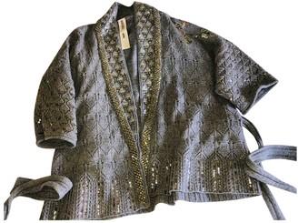 Kenzo Grey Wool Knitwear for Women