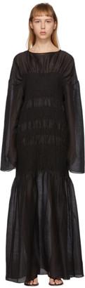 Totême Black Coripe Dress