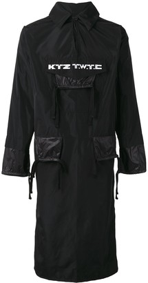 Kokon To Zai 'TWTC' elongated jacket